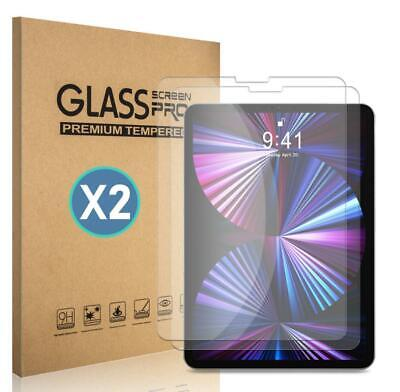2-Pack For iPad Air 4 2020 10-94th Gen HD Tempered Glass Screen Protector