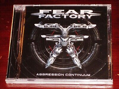 Fear Factory Aggression Continuum CD 2021 Nuclear Blast Records USA 5847-2 NEW