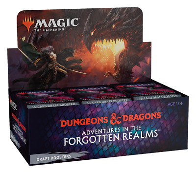 MTG Adventures in the Forgotten Realms Draft Booster Box SEALED