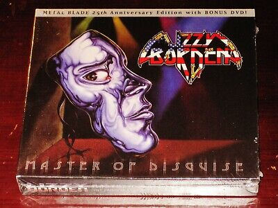 Lizzy Borden Master Of Disguise 25th Anniversary Edition CD - 2 DVD Box Set NEW