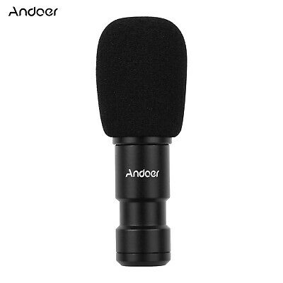 Andoer Plug-on Type-C Smartphone Microphone Video Mic for Streaming Sining Y1O8