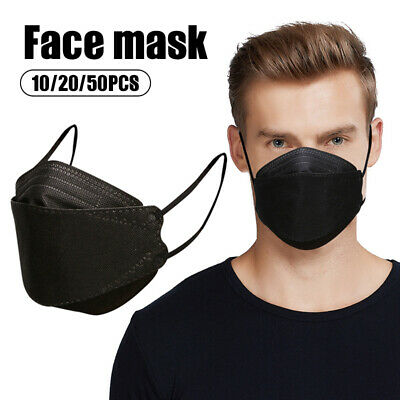 Adult KN94 Face Mask Protective Mask Korean Style Disposable Mask PM2-5 100pcs