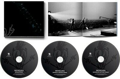 Metallica - Metallica Remastered Expanded Edition3CD New CD Expanded Versi