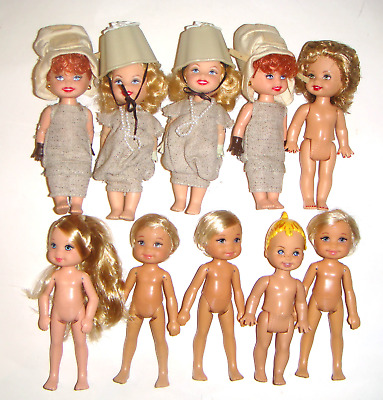 Kelly Tommy Nude Dolls 4 12 Inch Lot Of 10 dolls Clothes New