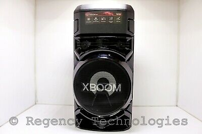 LG XBOOM PARTY SPEAKER WITH BLUETOOTH AND BASS BLAST  RN5  BLACK