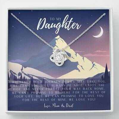 Daughter MotherS Day Gift To My Daughter From Mom To My Dau Necklace Gift fo-