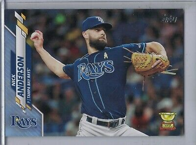 NICK ANDERSON 2020 Topps Fathers Day Blue 2150 500  G3898