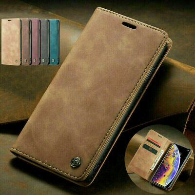 Wallet Case For iPhone 13 12 11 Pro Max 8 7 6 XR SE Magnetic Flip Leather Cover