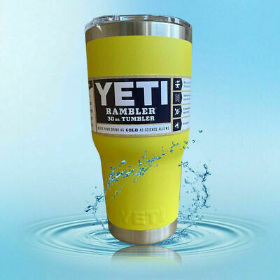 New Yeti 30oz Rambler Tumbler Stainless Steel Tumbler Cup with Lid US Seller