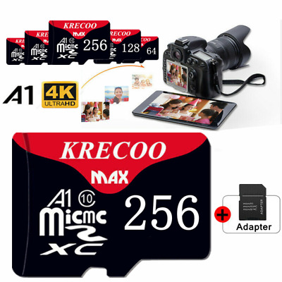 Micro SD Card Ultra Memory Card 256GB Class 10 Smartphones-Tablets Wholesale Lot