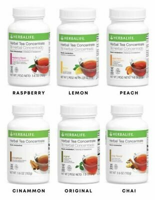 Herbalife Herbal Tea Concentrate 3-6 OZ 102g All Flavors