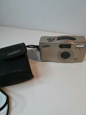 Samsung Maxima Zoom 60XL 35mm Film Point And Shoot Camera w Orig Case