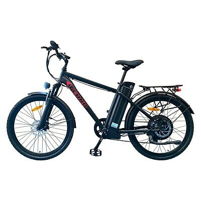 🔥26 TERKO✅48V 20ah 500W Electric Arrow-EBike City Road Delivery Pro Bicycle🔥