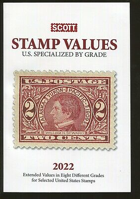 New 2022 SCOTT United States Stamp Values Specialized by Grade Catalogue