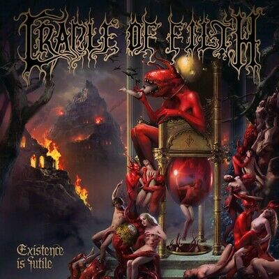 Cradle Of Filth - Existence Is Futile CD New