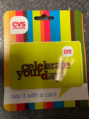 CVS GIFT CARD WITH TOTAL BALANCE OF 60-00