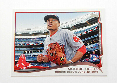 2014 Topps Update Mookie Betts RC US-301 Red Sox