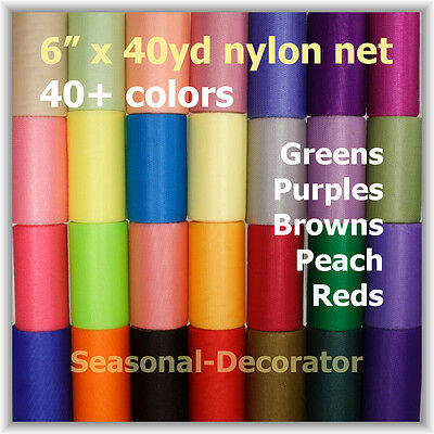 Scrubbie Mesh Nylon Net 6 40yd- Spool Second Half Of 40 Colors