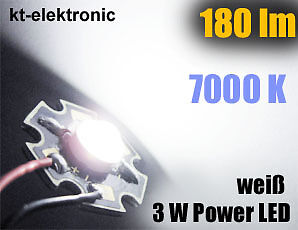 3 ST CK POWER LED 3W 700MA WEI 180 LM