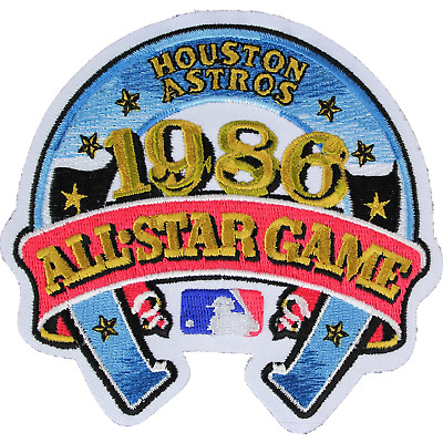 1986 MLB All Star Game Houston Texas Astros Astrodome Jersey Logo Baseball Patch