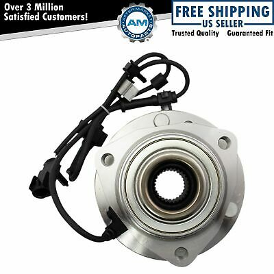 Front Wheel Hub - Bearing for Chevy Trailblazer GMC SUV w ABS 6 Lug