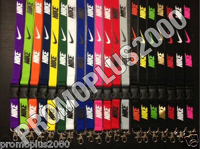 Nike Jordan Adidas Lanyard Detachable Keychain iPod Camera Badge Document Holder