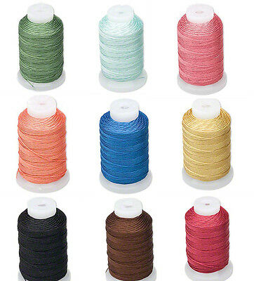 Silk Beading Thread Size FF 0-015 Inch 0-38mm Spool 115 Yards Choice of Color