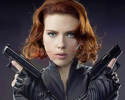 Scarlett Johansson Avengers Black Widow 8X10 GLOSSY PHOTO PICTURE IMAGE sj129