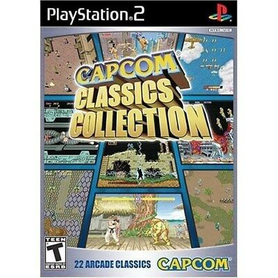 PLAYSTATION 2 PS2 GAME CAPCOM CLASSICS COLLECTION BRAND NEW - FACTORY SEALED