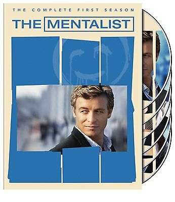 The Mentalist The Complete First One 1 Season DVD Set Brand New