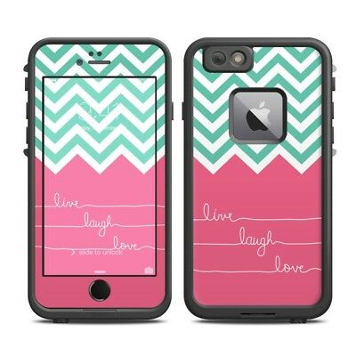 Skin for LifeProof FRE iPhone 6 Plus - Live Laugh Love - Sticker Decal