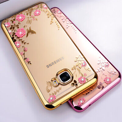 Bling Glitter Case For Samsung Galaxy S10 S9 S8 J3 J5 Clear Gel Soft Phone Cover