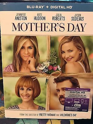 Mothers Day Blu-ray - Digital HD 2016 NEW Jennifer Aniston free shipping