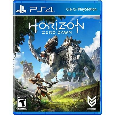 PS4 Horizon Zero Dawn Brand New Factory Sealed Playstation 4