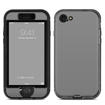 Skin for LifeProof NUUD iPhone 7 - Solid Grey - Sticker Decal