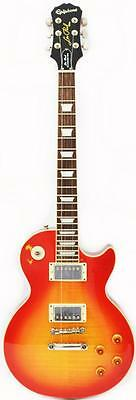 EPIPHONE GIBSON LES PAUL STANDARD PRO PLUS TOP 2012 FADED CHERRY SUNBURST GUITAR