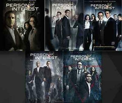 Person of Interest Complete Seasons 1-5 DVD 1 2 3 4 5 Bundle new