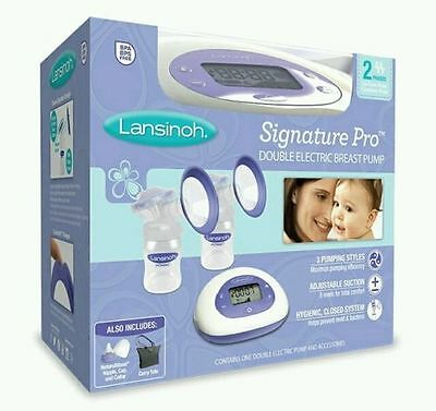 Lansinoh Double Electric Breast Pump BPA-free BRAND NEW SEALED BABY FEEDING