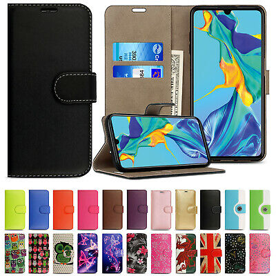 Case for Huawei P20 P30 Pro P40 Lite Leather Book Flip Wallet Slim Phone Cover