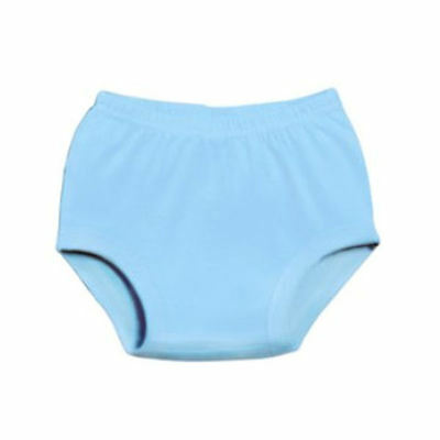4 NEW INFANT COTTON DIAPER COVER BLUE 6 MONTHS EMBROIDERY BLANKS NO RESERVE