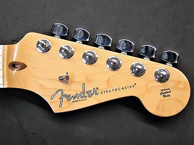 2012 Fender USA Stratocaster MAPLE NECK w TUNERS American Strat Electric Guitar