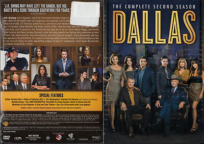 Dallas The Complete Second Season NEW DVD 2014 4-Disc Set