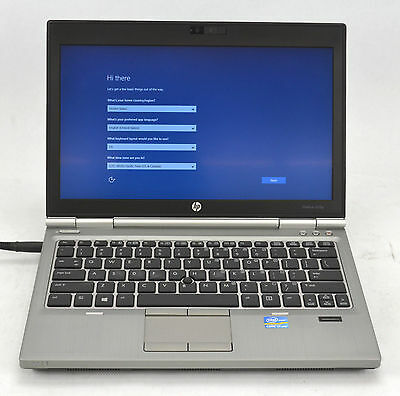 HP EliteBook 2570P Dual Core i7 2-90GHz Laptop 500GB 8GB Windows 10 RJ334 A1