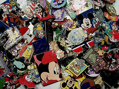 Disney Pin Lot 100 pins  Fastest Shipping to USA 100 TRADABLE