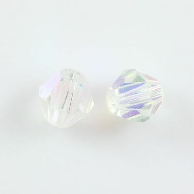 30pcs Swaro-element 6mm Bicone Crystal beads D Clear AB