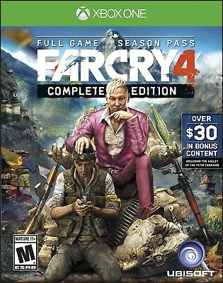 XBOX ONE XB1 GAME FAR CRY 4 COMPLETE EDITION BRAND NEW AND SEALED