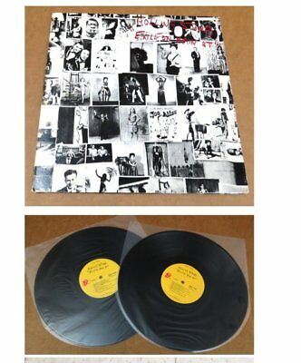 Rolling Stones Exile On Main Street USA 2-LP Vinyl Set wPostcards Near Mint