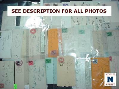 NobleSpirit NO RESERVE TH1 US 28x Dead Post Office Classic Cover Collection