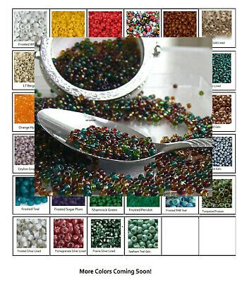 80 Toho Beads 10-Grams Glass Seed Beads PICK COLOR