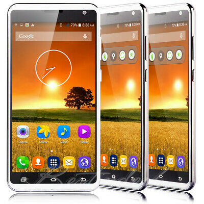 Unlocked 5-5 Large Screen Android Mobile Phone 4GB Quad Core 2SIM Smartphone